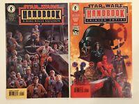 STAR WARS Handbook Volumes 1 & 2 (X-Wing Rogue Squadron & Crimson Empire) Comics