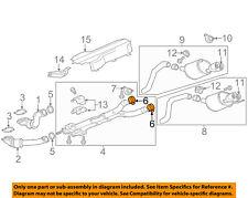 Chevrolet GM OEM 14-18 Corvette 6.2L-V8 Exhaust-Intermed Pipe Clamp 15103184