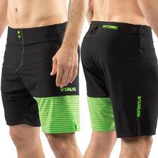 Virus Men's Hydro Performance Shorts (St4) Black & Green, Crossfit, Gym,Surfing