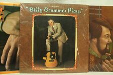 lot 3lp records Doc & Merle Watson Guitar album Then and Now Billy Grammer Plays