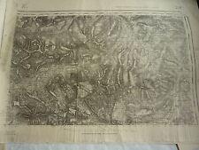 carte 1/50000 guerre 39 / 45  - LUZ - Vallée de l'Adour