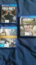 PS4 GAMES - Call of Duty Black Ops 3, Call of Duty WW2, Destiny