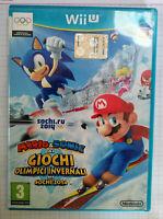 Nintendo Wii U Mario e Sonic ai GIochi Olimpici Invernali Sochi 2014 PAL Italian