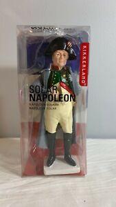 Kikkerland Solar Napoleon Solar Power Energy Novelty Figurine New in Package