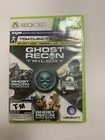 Tom Clancy's Ghost Recon Trilogy  XBOX 360  3 GAMES IN 1  Tested  Ships Fast G11