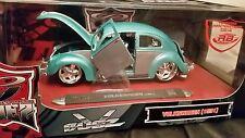 VW VOLKSWAGEN BEETLE MAGGIOLINO BUGZ TUNING 1951 Metallizzato 1:18