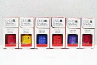 CND Shellac SET OF 6 Colors UV Gel Polish NEW WAVE Spring Shades 2017 Collection