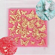 Silicone Fondant Lace Embosser Mat Mould Cake Sugarcraft Decorating Tool Mold UK