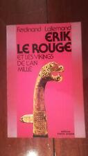 LALLEMAND ERIK LE ROUGE ET LES VIKINGS DE L'AN MILLE 1986 épuisé