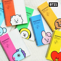 BTS BT21 Official Authentic Goods Mathmatics Note 7Characters By Kumhong Fancy