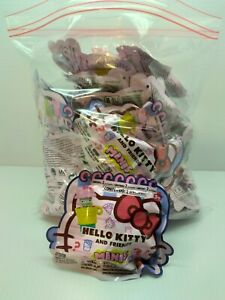 Hello Kitty & Friends Minis Sanrio Surprise Bags Lot Of 25 BRAND NEW