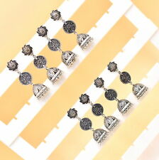 Wholesale 50Psc Lot Silver Plated Indian Trending Ghungro Jhumki Earring RC3830