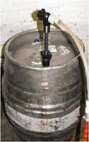 INSULATED CASK JACKET cooler real ale lager beer keg barrel extractor gantry
