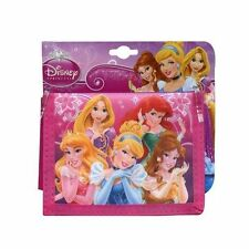 Disney Princess  Non-Woven Bi-fold Wallet - Front & Back Print - New