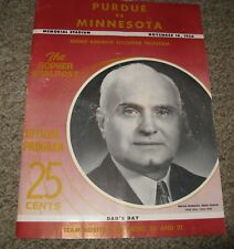 Gopher Goalpost, 1950, Purdue vs. U of Minnesota