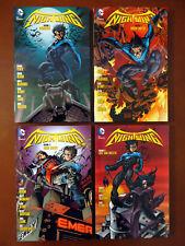 NIGHTWING Vol 1 2 3 4 - 4x DC Comics TPB Graphic Novel Lot - Batman Bludhaven