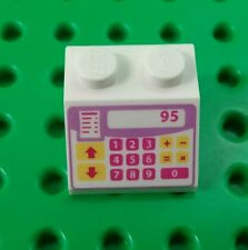 *NEW* Lego 2x2 Cash Register Slope Brick Friends Printed x 1 piece