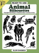 Ready-to-Use Animal Silhouettes (Dover Clip Art Ready-to-Use)