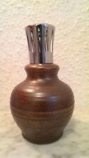 "LAMPE BERGER REVOL braun Keramik - en grès marron, ""E470"""