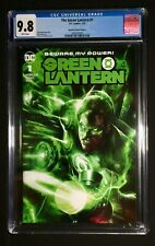 Green Lantern #1 CGC 9.8 - White Pages - Mattina Variant Cover A - DC Comics