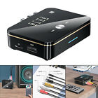 Bluetooth 5.0 Transmitter Receiver U-Disk Rechargeable Audio Adapter for TV