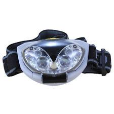 Lampe frontale a 6 LED Phare de bicyclette etanche - 3 modi, 3 piles AAA A6E7