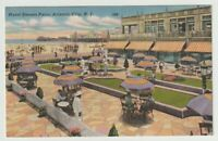 1958 Postmarked Postcard Hotel Dennis Patio Atlantic City New Jersey NJ