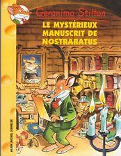 GERONIMO STILTON N°4 Le mystérieux manuscrit de Nostraratus livre jeunesse