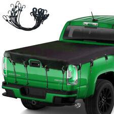 Car Truck Bed Tarp Cover Waterproof 600D Oxford Fabric Pickup rainy/windy/snowy