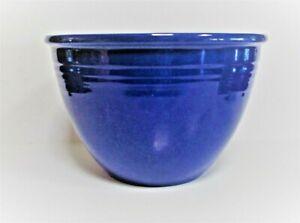 Vintage Fiesta Fiestaware Original Cobalt Blue #4 Nesting Mixing Bowl 1938-1944