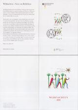 Ministerkarte 2.11.13 Weihnachten 2013, Stern von Bethlehem (2x MiNr.3035)