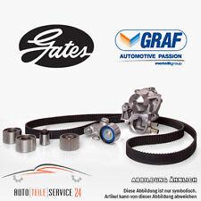 Gates Zahnriemensatz und Wasserpumpe Graf für Citroen AX BX C15 ZX Peugeot 205