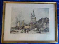 Originaldrucke (1800-1899) mit Landschafts-Motiv und Lithographie-Technik