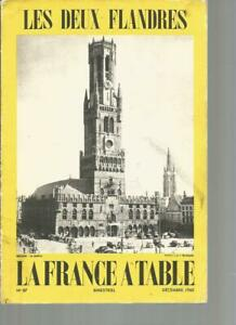 LA FRANCE A TABLE N°87 - LES DEUX FLANDRES