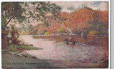 Lake District; The Old Ferry, Windermere PPC,1942 Grasmere PMK, By Heaton Cooper
