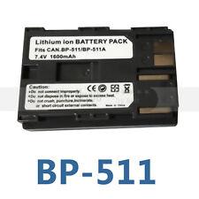 BP-511A 511A Camera battery For Canon EOS 300D 10D 20D 30D 40D 50D D30 D60 5D G6