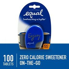 4 Packs equal Zero Calorie Sweetener Tablets 100 Count Each 400 total