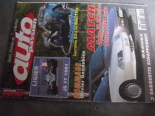 $$q Revue auto Passion N°125 Ligier JS 17 1981  Lorraine B3-6  Alpine V6 GT