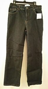 NWT Kim Rogers Women's Easy Fit 5 Pocket Easy Fit RINSE Wash Jeans 6P