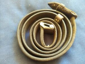 Original WWII German K98 G43 33/40 Mauser Leather Sling  Late War '44