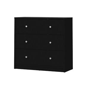 Dresser 3-drawer Storage Organizer Wood Chest Organizer