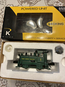 K-LINE # K2630-05 NEW HOPE VALLEY #1 Plymouth Switcher - New In Box / SMOKING !