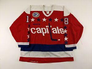 1994-95 Washington Capitals Randy Burridge GAME USED Hockey Jersey w/ Patch