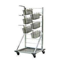 "New Age 1215 24-1/2""W Fry Basket Rack W/ Approximately 27 Fry Basket Capacity"
