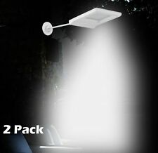Solar Power Dusk-to-Dawn Sensor Waterproof Security Spot LED Flood Light 2 Pack
