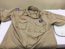 Boy Scout Leader Webelos Adult Medium Offical Uniform Shirt I900