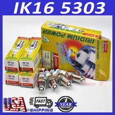4x Iridium Spark Plug Denso IK16 5303 For Toyota Nissan Honda Mazda Mitsubishi