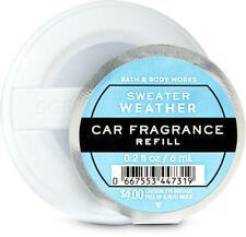 *New* Sweater Weather Scentportable *Car* Refill Bath & Body Works Ships Free!