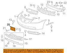 Pontiac GM OEM 05-09 G6-License Plate Bracket Mount Holder 10379556