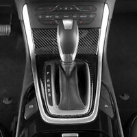 2tlg Carbon Mittelkonsole Rahmen Blende Schutz Passend für Ford Edge ab 2015